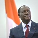 """Ph/ DR-: """"... l'économie de notre pays traverse une période difficile marquée par les chocs intérieurs et extérieurs..."""" dixit le président Alassane Ouattara aux Ivoiriens"""