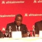 Ph: DR - Edoh Kossi (au milieu) DG de la BRVM pour une amélioration de la liquidité et de l'attractivité de l'institution