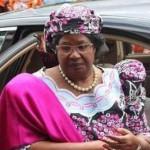PH : DR - Joyce Banda, la présidente du Malawi