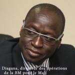 PH: DR - Ousmane Diagana, Directeur des opérations de la Banque mondiale pour le Mali