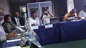 Quelques journalistes participants