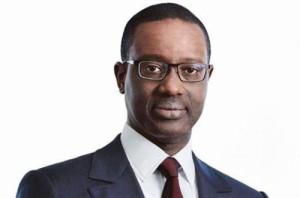 Ph: DR-: Tidjane Thiam, directeur général de Credit Suisse
