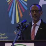 Ph/DR-: Paul Kagame lors de son discours à l'African Transformation Forum (ATF) qui s'est tenu à Kigali, Rwanda