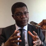 Ph/DR-: M. Thierry Zomahoun, PDG de l'Institut africain des Sciences mathématiques (African Institute for Mathematical Sciencs - AIMS) et Président du Next Einstein Forum (NEF)