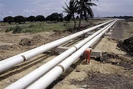 Ph:DR-: Une vue des pipelines conduisant le gaz vers Maria-Gletta