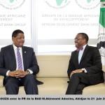 CEDEAO- BAD  Marcel de Souza et Akinwumi Adesina