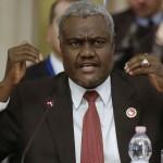 Ph/DR-: M. Moussa Faki Mahamat, nouveau président de la Commission de l'Union africaine.
