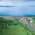 Ph:dR-: Une vue du barrage du Zungeru au Nigeria