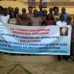 Atelier de Formation des Journalistes pour la promotion des Droits fonciers des femmes au Bénin : Associer les hommes des médias à la campagne de sensibilisation