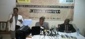 Lancement de la campagne mondiale pour et en faveur des Défenseurs des Droits Humains : Un coup d'arrêt sur la vague des attaques