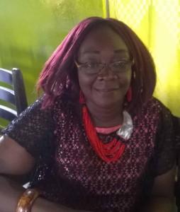Mireille Agossou, juriste de formation, Présidente du Réseau des Femmes engagées dans la réduction des risques et catastrophes.