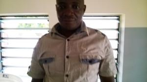 Ph/ DR-: Marcellin Godonou, Chef du village d'Ahlomey à Tohouè