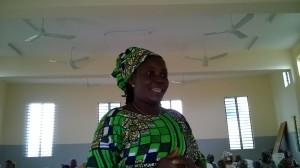 Ph/ DR: Dame Lydia Gbossèmado de la coopérative Agamandin