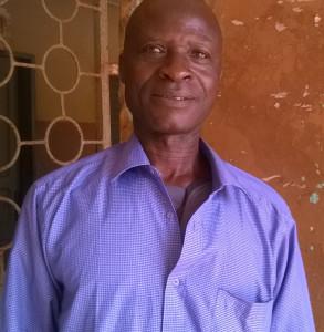 Ph: DR-: M. Agossou Roger, Conseiller local et Cultivateur, à Tandahota Arrondissement d'Azohouè-Aliho (Commune de Tori)