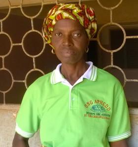 Mme Gbètoho Marie, cultivatrice à Tori