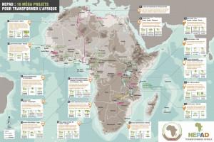 Le PIDA c'est 51 programmes d'infrastructure transfrontalière et plus de 400 projets à mettre en œuvre dans quatre secteurs prioritaires sur le continent.