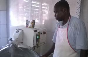 Ph: DR-: Jean-Claude Houndjado boulanger professionnel