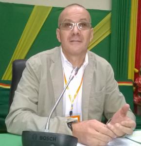 Zine Cherfaoui, Directeur de El Watan et de la Maison de la presse Tahar Djaout Albert