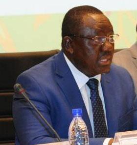 PhR: Gaston Dossouhoui, ministre de l'Agriculture, de l'Elevage et de la Pêche (MAEP).