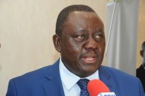 Ph: DR-: Gaston Dossouhoui, Ministre béninois de l'Agriculture, de l'Elevage et de la Pêche (MAEP).