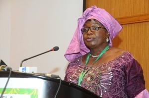 Ph; DR-: Mme Julienne Zimé Yérima, Directrice de l'Alimentation scolaire