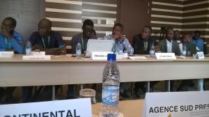 Ph: DR: Une vue partielle des journalistes participants