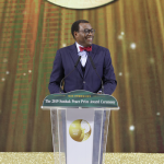Ph: DR-: Akinwumi Adesina, lauréat du Prix Sunhak de la paix 2019 à Séoul en Corée du Sud