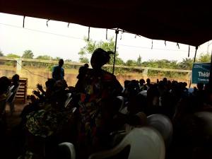 Ph: DR-: Les femmes de Kpakpamè, très enthousiastes ont accueilli la bonne nouvelle