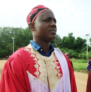 Ph:! DR-: Le nouveau Doyen de la FLLAC, Prof Pascal Okri TOSSOU