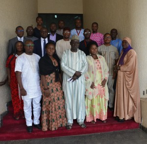 A group picture of participants