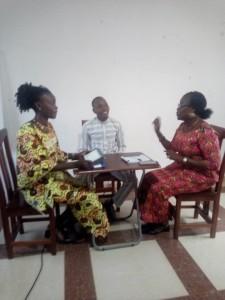 Ph: DR- Des séances de simulation sur une interview difficile et ....