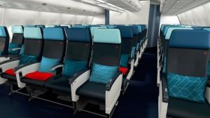 Ph: DR-: ... la cabine Economy garantit un confort spécial pour chaque voyageur.