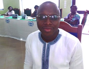 Ph: DR-: M. Xavier Zola, Directeur de la Formation, du Renforcement des capacités et de l'Appui à la Gestion foncière à l'Agence nationale du Domaine et du Foncier (ANDF)