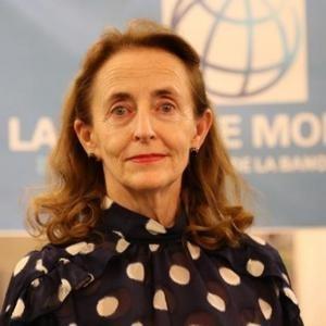 Ph: DR-: Mme Katrina Sharkey, la Représentante résidente de la Banque mondiale au Bénin