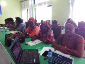 Ph: DR: Une vue partielle des participants à l'atelier de Ouidah