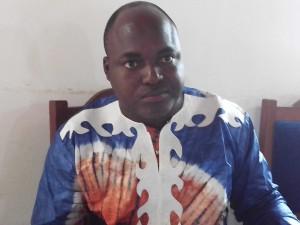 """Ph: DR-: M. Mounirou Tchacondoh, Coordonnateur national du Projet EWOH2 """"Un seul monde sans faim"""""""