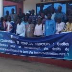Contentieux, conflits fonciers et Droits de revendication des femmes à l'accès à la terre: Les acteurs locaux de gestion foncière renforcent leur capacité à Ouidah