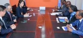 Songwe discute de la mise en œuvre de l'initiative Belt and Road avec la délégation chinoise