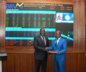 Ph: DR- Les deux institutions s'engagent à travailler  à la promotion de l'innovation technologique sur les marchés financiers