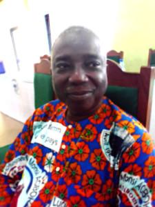 Ph DR- M. César Zounmanvo, Chef d'Arrondissement de Sèhouè (Commune de Toffo)
