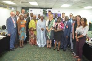 """Ph: DR-: """"Aucun pays, aucun acteur, ne peut à lui seul livrer cette bataille et partant, il nous faut des partenariats encore plus constructifs,"""" a déclaré Madame Ruby Sandhu-Rojon, adjointe au Représentant spécial du Secrétaire général des Nations Unies pour l'Afrique de l'Ouest et le Sahel (UNOWAS)"""