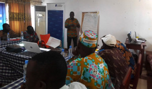 Ph: DR-: Des têtes couronnées saisis par la formation sur la sécurisation foncière