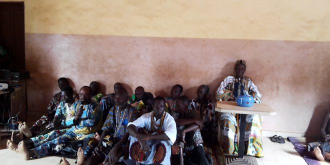 Plaidoyer en faveur de l'accès des femmes au foncier à Tori-Bossito :«Les femmes ne doivent plus être exclues de leurs droits d'accès à la terre à Tori» dixit le Kinidégbé Gbozèkpa Gbèna